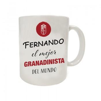 Calcetín Media Caña Granada CF Gris 18-19